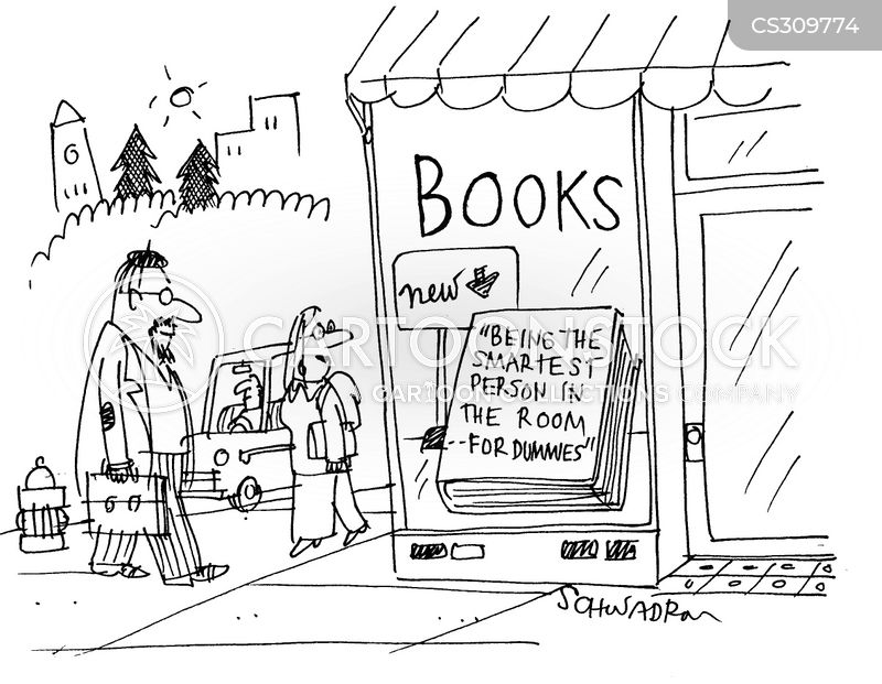 new book cartoon