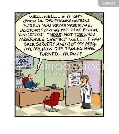turning tables cartoon