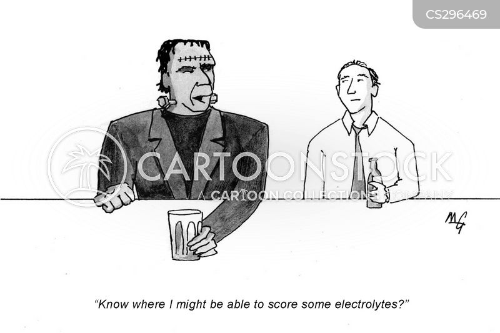 drug dealing cartoon