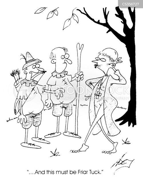 friar tuck cartoon