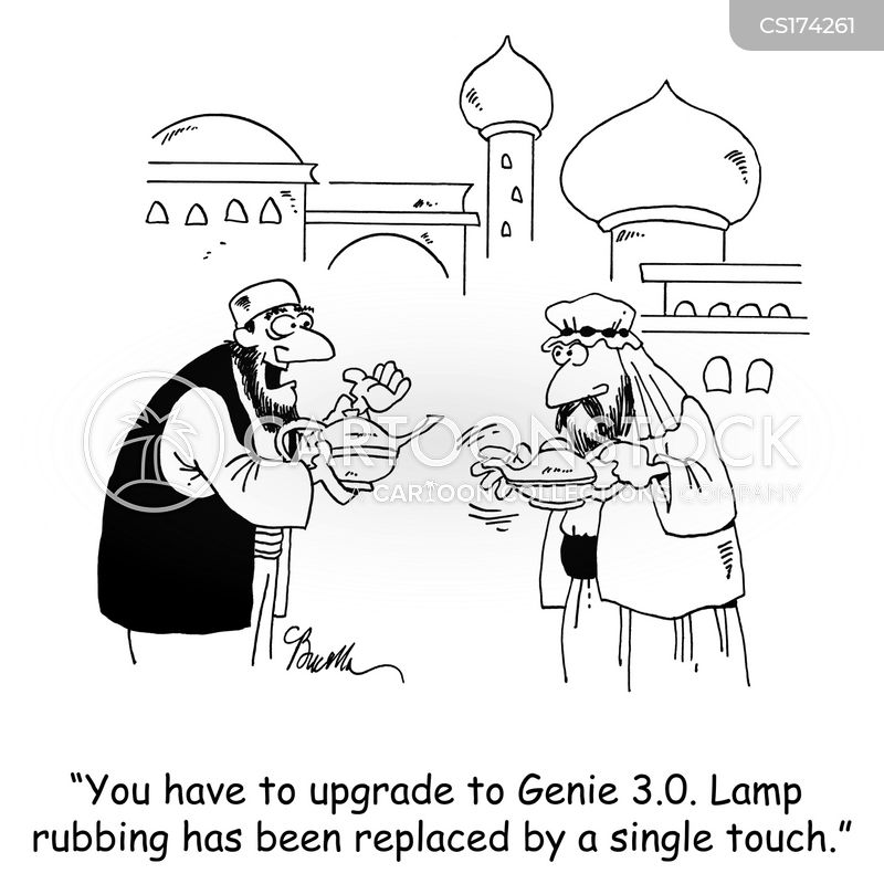 lamp cartoon