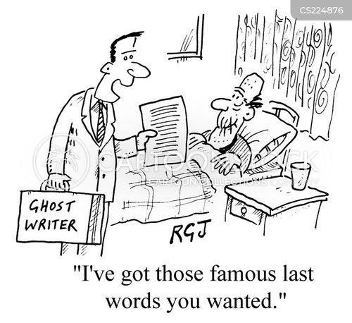 famous last words cartoon