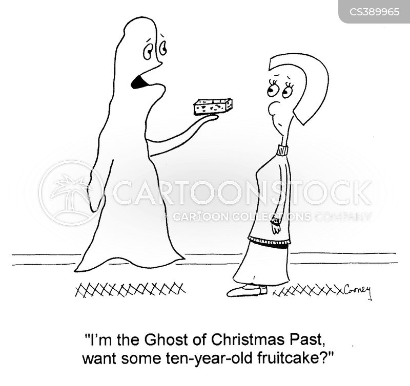 Ghosts Of Christmas Past Cartoons and Comics  funny pictures from