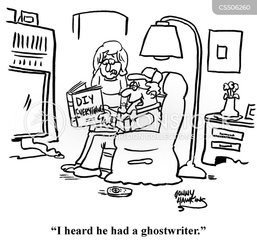 ghostwriter cartoon