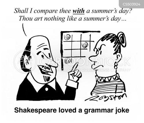 sonnet cartoon