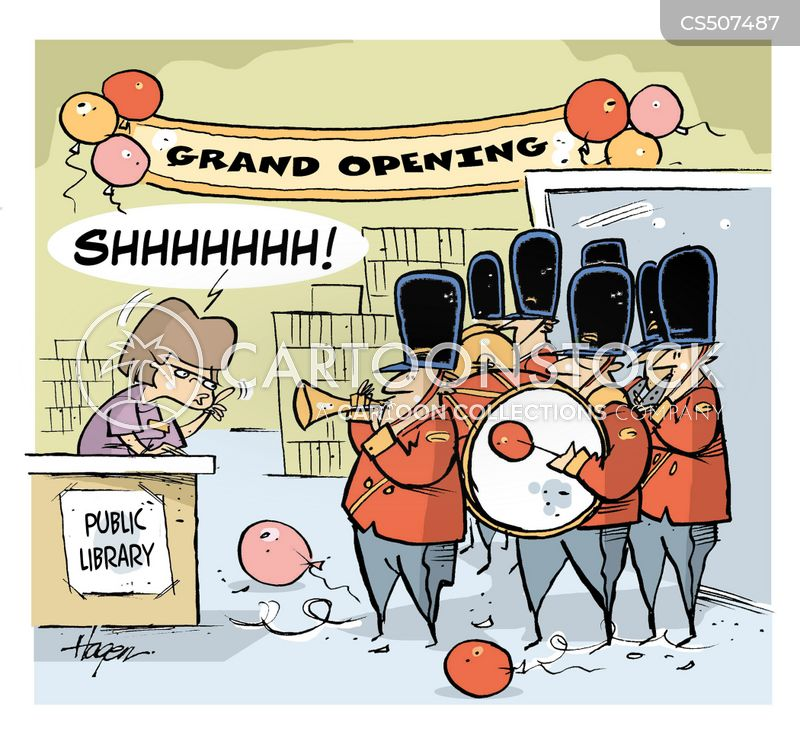 grand openings cartoon