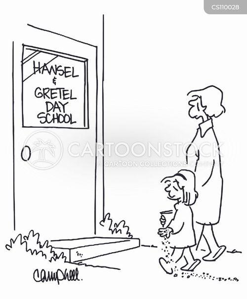 day school cartoon