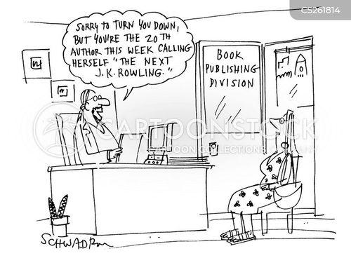 book division cartoon