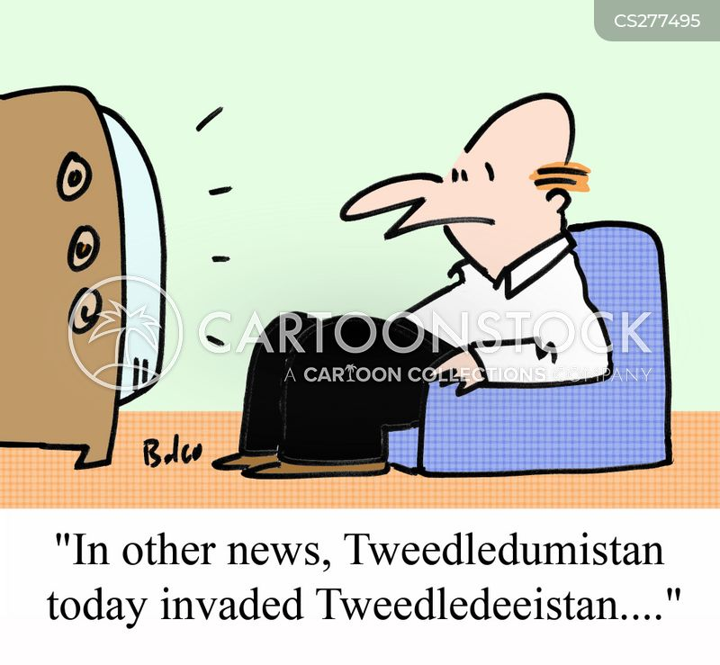 tweedledee cartoon