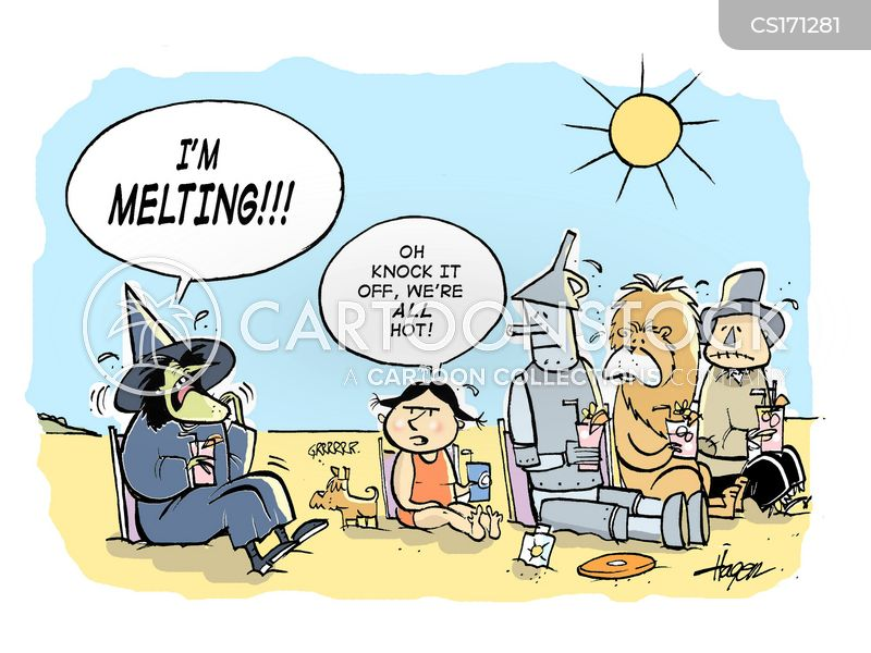 I M Melting Cartoons And Comics Funny Pictures From