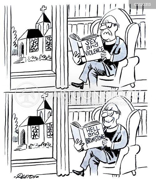 rectors cartoon