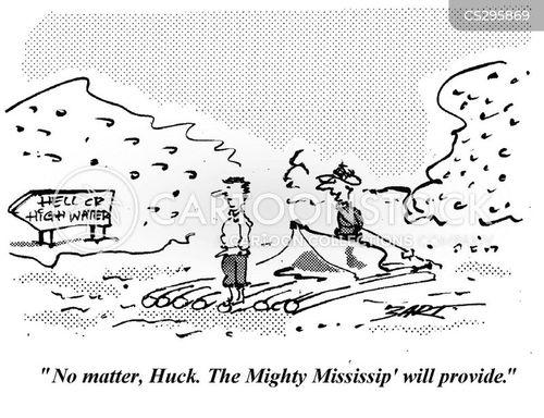 mississippi cartoon