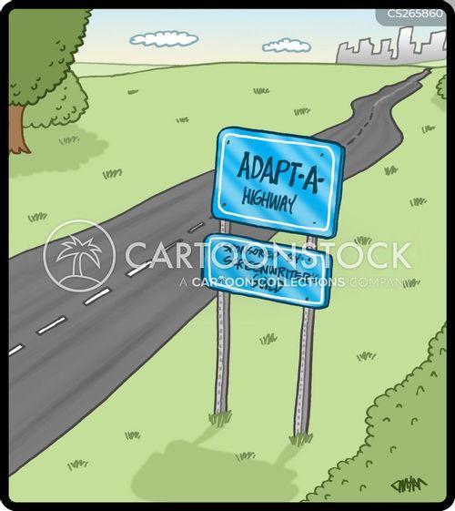 logistics cartoon