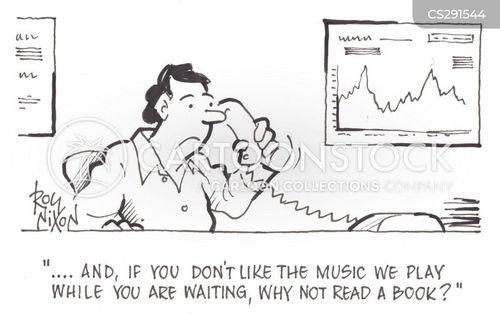 listen to music cartoon