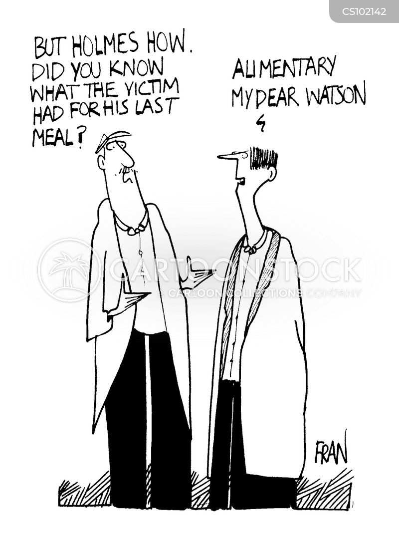 digestion cartoon