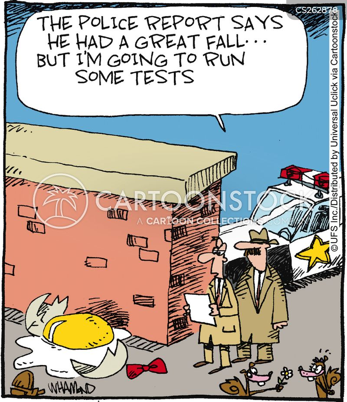 investigating cartoon