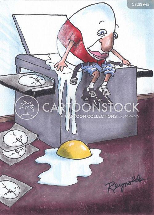 photocopying cartoon