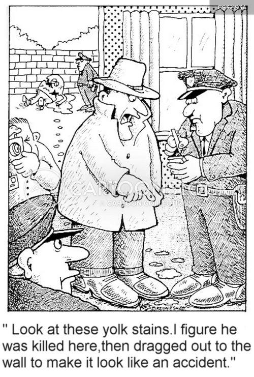 homocide cartoon
