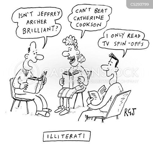 catherine cookson cartoon