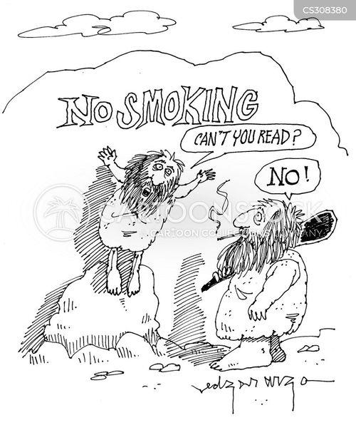 no-smoking cartoon