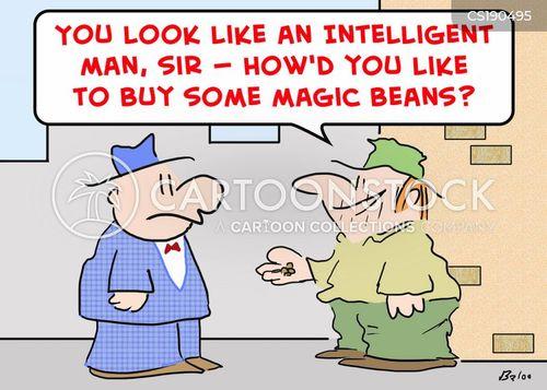 bean cartoon
