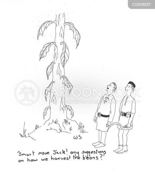 beanstalks cartoon