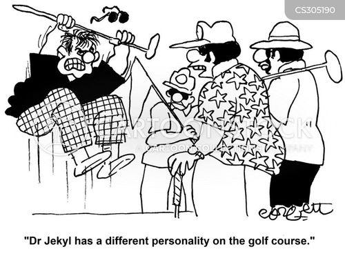 personality change cartoon