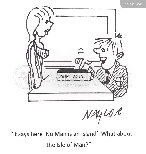 john donne cartoon