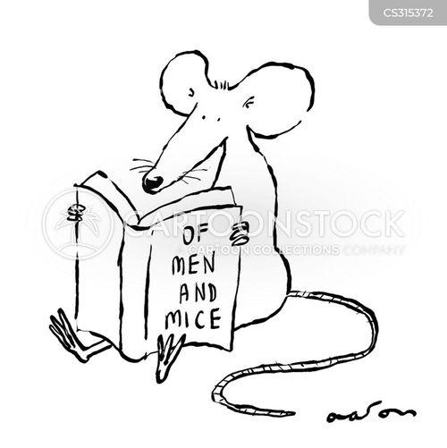 famous books cartoon