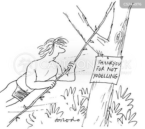 yodelling cartoon