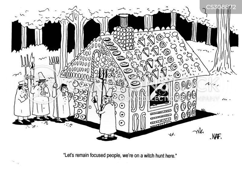 witch hunter cartoon