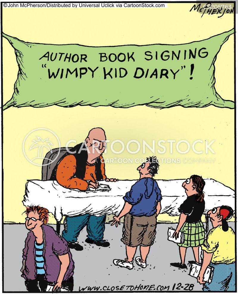 autograph cartoon