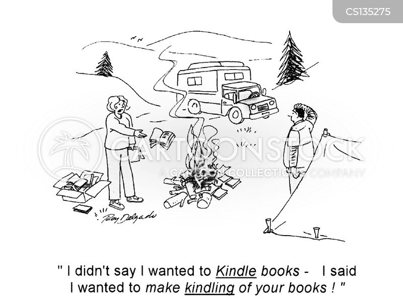 kindles cartoon