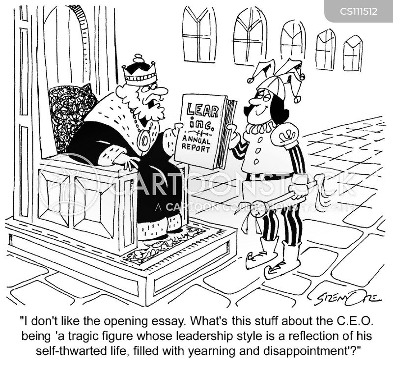 lear cartoon