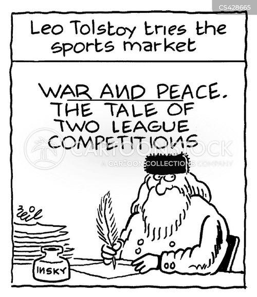russian literature cartoon