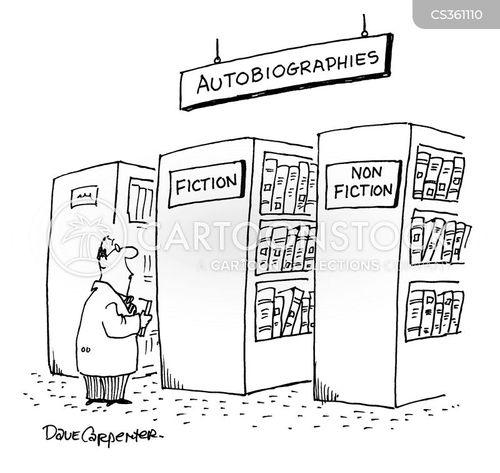 biographical cartoon