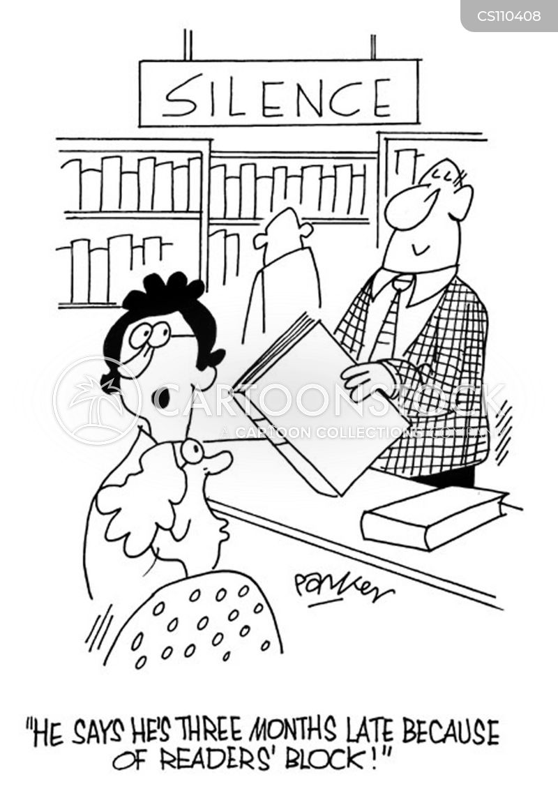 overdue book cartoons and comics funny pictures from cartoonstock