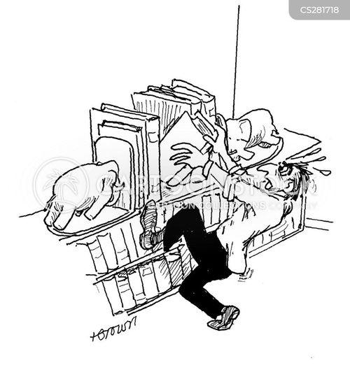 bookend cartoon
