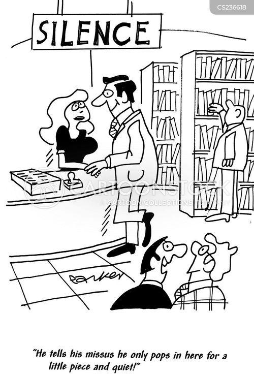 lying husband cartoon