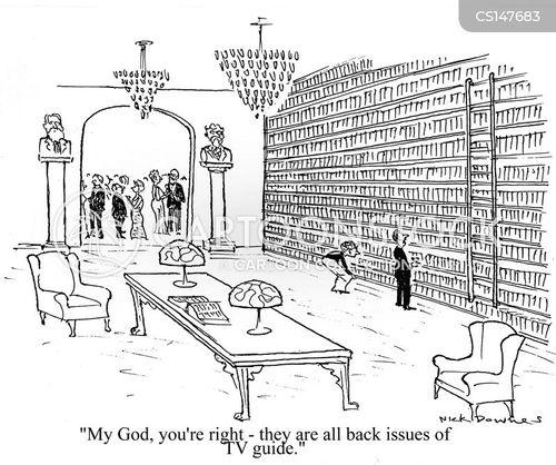 back issue cartoon
