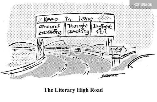 high road cartoon