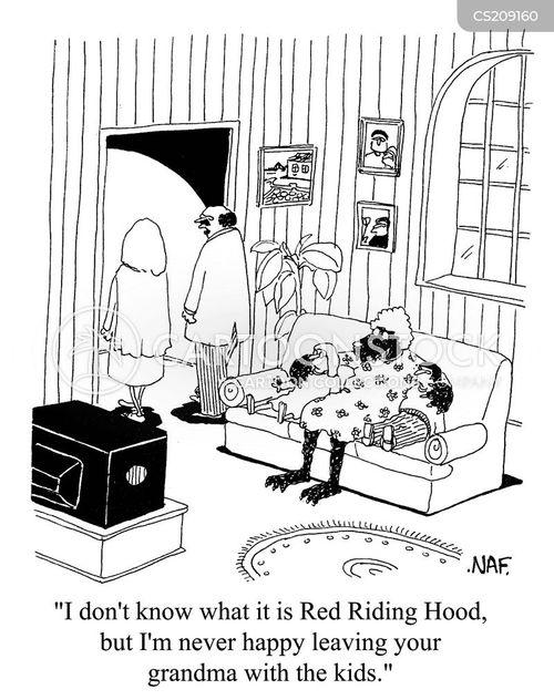 childminding cartoon