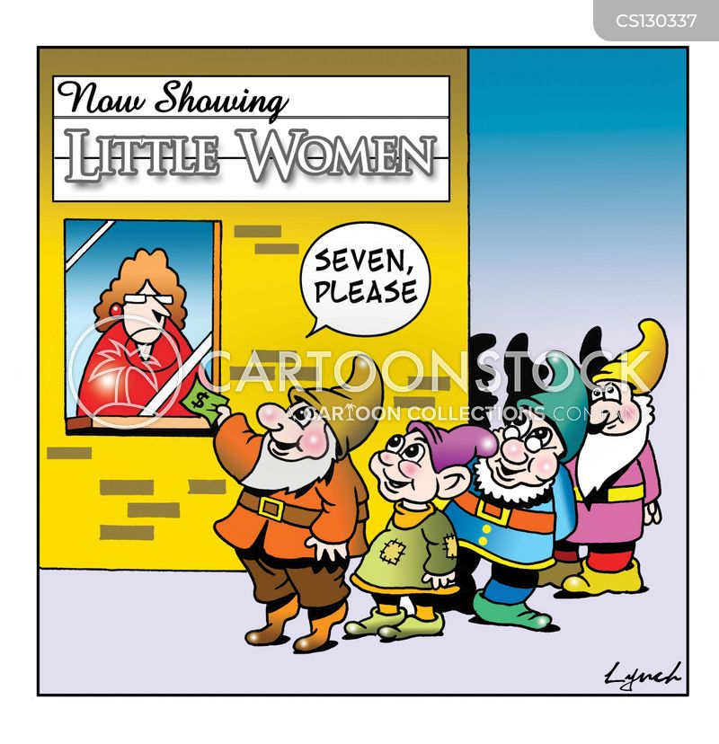 dwarfism cartoon