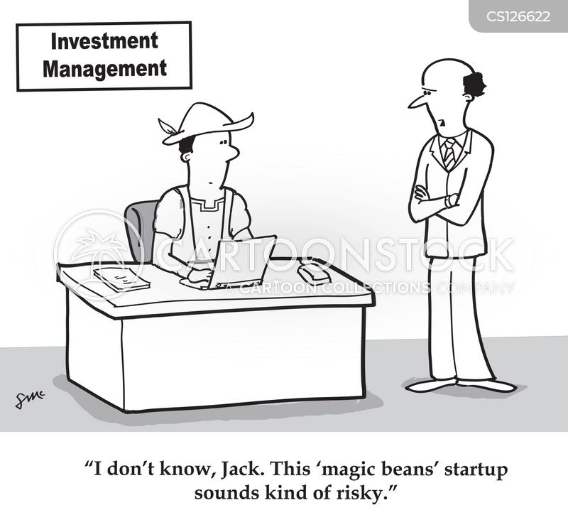 safe investments cartoon