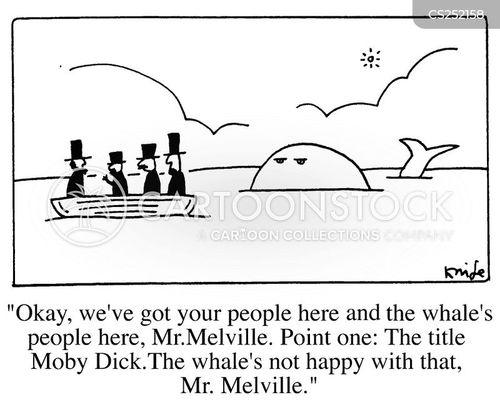 melville cartoon