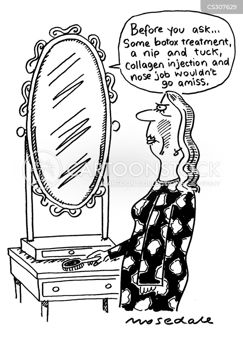 beauty tips cartoon