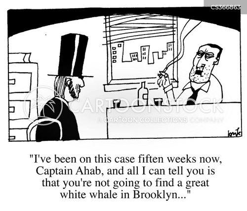 manhunt cartoon