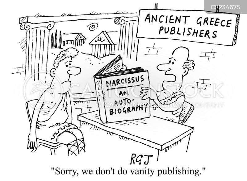 vanity publishers cartoon
