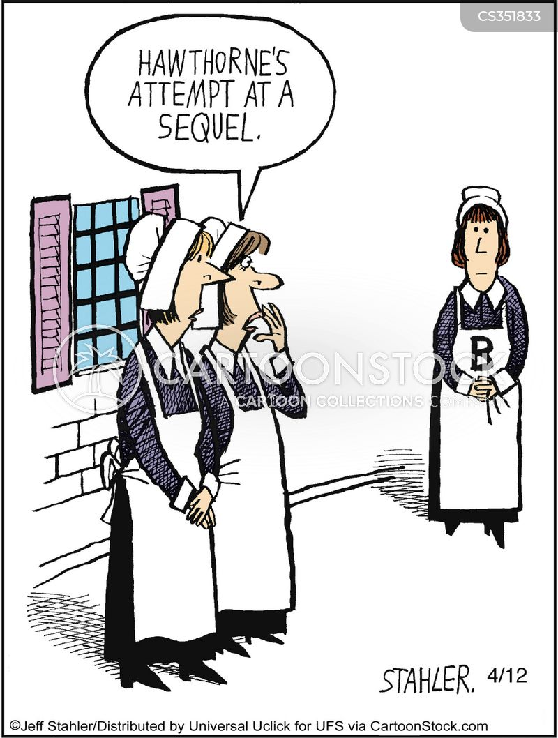 the scarlet letter cartoons and comics - funny pictures from