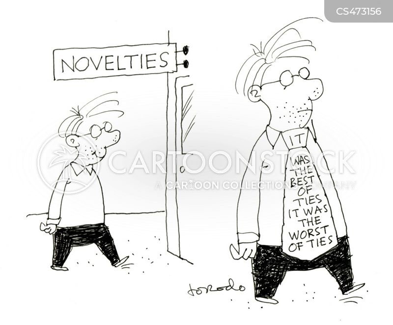neck-tie cartoon